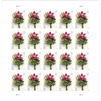 Contemporary Boutonniere Stamp